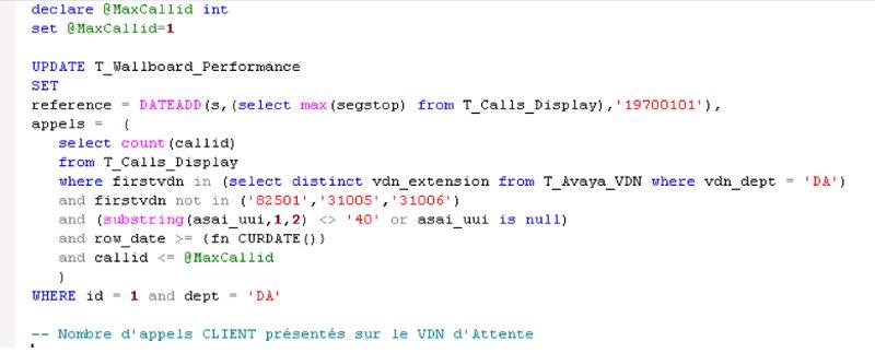 Requête SQL très consommatrice en IO